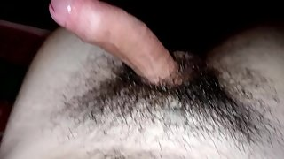 Horny Teen Wanks Cum Bursts On Himself Quick