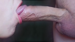 Sucking daddys big fat cock so he could let me to party HD PROMO