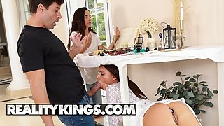 Reality Kings - Sneaky anal slut Lana Roy can make anyone cheat