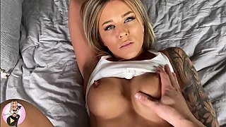 Wasn't Ready for it so tight and wet pussy Missionary POV 4K