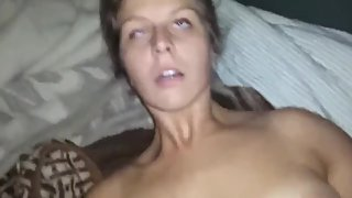 Gorgeous amateur bitch with her new boyfriend on real homemade