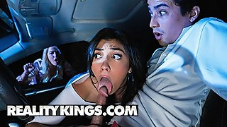 Reality Kings - Busty step mom and thicc gf share big cock