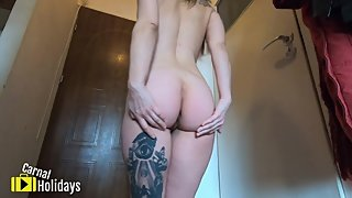 Shaking My Ass For You & Pissing Myself - Solo Aimee CarnalHolidays
