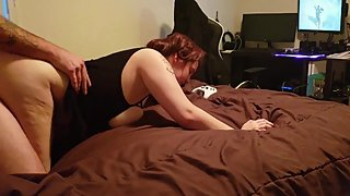 Gamer Girl Gets Fucked and Her Ass Creamed