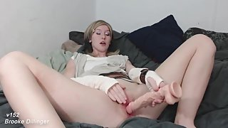 v152 Rey Sucks and Fucks Realistic Cock *OLD VIDEO* NEWER VIDS IN FULL HD