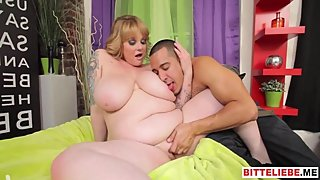 BBW - COCK IN BIG BLONDE EINFUGEN