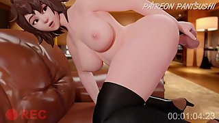 Mei Loves Anal Toying - Overwatch 3D HENTAI (SOUND)