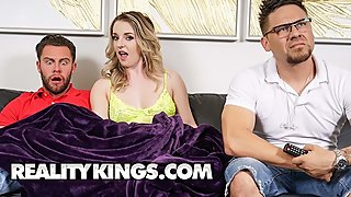 Reality Kings - Sneaky anal slut Kate Kennedy cucks bf