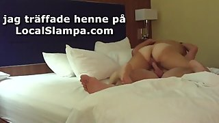 Chubby Swedish ex-gf blowjob and sticky facial real homemade private sextap