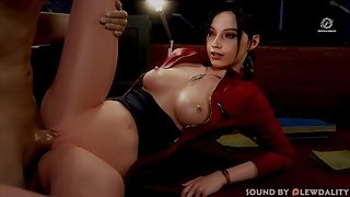 Claire Redfield Works the Nightshift (Pewposterous, Sound by Lewdality)