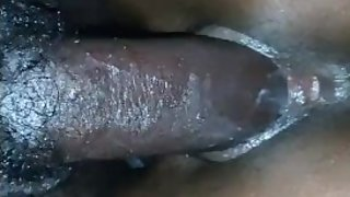 Tight Creamy Ebony Pussy Riding on BBC