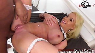 charwoman anal and ass to mouth fuck for money - german muscle model
