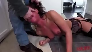 Slap her and fuck her brutally in the ass